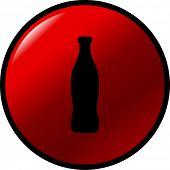 beverage bottle button