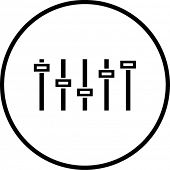 graphic equalizer symbol