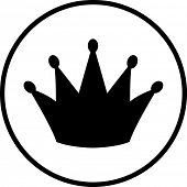 símbolo da coroa