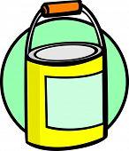 paint bottle or bucket