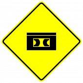 vhs videotape sign