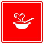 love soup sign
