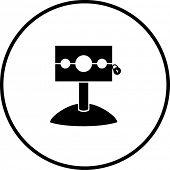 medieval stockade symbol