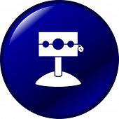 medieval stockade button