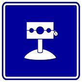medieval stockade sign