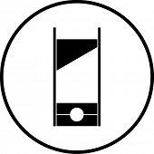 image of guillotine  - guillotine symbol - JPG