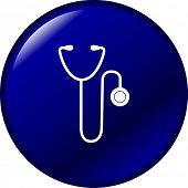 stethoscope button