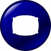 pillow button