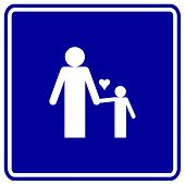 dad and son sign
