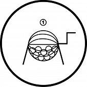 lottery or raffle symbol