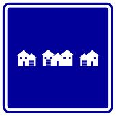 houses sign