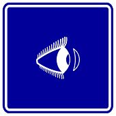 contact lens sign