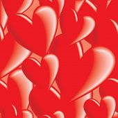 Seamless valentines background