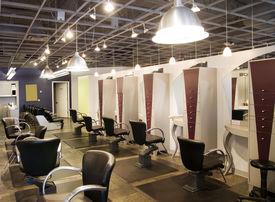 picture of beauty salon interior  - Fashionable Hair Salon - JPG