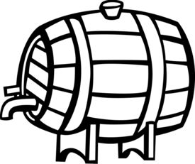 picture of mezcal  - wine barrel - JPG
