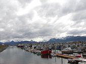 Boat Harbor At Homer Spit
