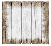 Rustic Wood Painted Sign Background With Old Weathered Texture As A Grunge Distressed Antique Wall P poster