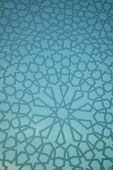 Moroccan Geometric Background
