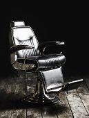 Barbershop Armchair, Modern Hairdresser And Hair Salon, Barber Shop For Men. Beard, Bearded Man. Sty poster