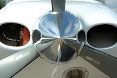 Aircraft nose cone propeller hub