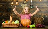 Fall Harvest Holiday. Elementary School Fall Festival Idea. Celebrate Harvest Festival. Kid Girl Fre poster