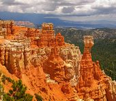 Vista of Bryce Canyon National Park in Utah