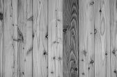 Black And White Wood Texture Background. Dark Wood Plank Abstract Background. Empty Wooden Wall. Bla poster