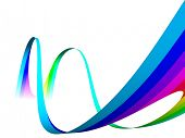 3D Abstract Color Waves