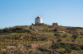 Windmill in Paros island (Greece)