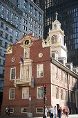 Old Boston Statehouse on the Freedom Trail