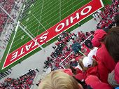 Fans at an Ohio State football game