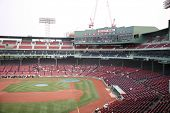 Fenway Park Baseball-Stadion in Boston Massachusetts, Heimat von den Boston red sox