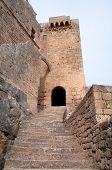 Castelo de Lindos, na ilha de Rodes (Grécia)