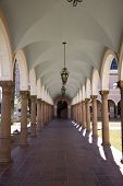 pic of pima  - Outside corridor at the Pima County Courthouse in Tucson - JPG