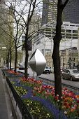 Art along Chicago's Magnificent Mile, Michigan Avenue