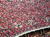COLUMBUS, OHIO-November 10, 2007: Ohio State Buckeyes play Illinois