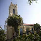 Historic Unitarian church of Charleston, South Carolina established in 1772