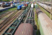 Estação Ferroviária de mercadorias a Vladivostok em Russo