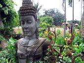 Jungle statue
