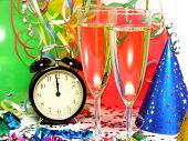 stock photo of new years celebration  - new years eve  - JPG