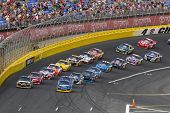 CONCORD, NC - May 30:  The NASCAR Sprint Cup teams take to the track for the Coca-Cola 600 Race at t