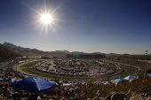 AVONDALE, AZ - APRIL 10:  The Phoenix International Raceway is a one mile race track plays host to the NASCAR Sprint Cup, Nationwide, and Camping World Truck series in Avondale, AZ on April 11, 2010.