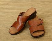 Brown Leather Sandals