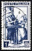Postage stamp Italy 1950 Auto Mechanic, Piemonte
