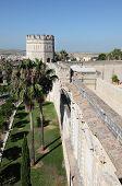 Moorish Alcazar In Jerez De La Frontera