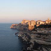 Bonifaccio At Sunrise, Corsica