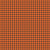 Orange & Dark Grey Circles Pattern