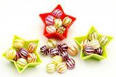 Assorted fruit candies