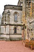 Medieval Castle in Roslyn, Scotland