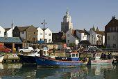 Fishing boats, Portsmouth, Hampshire